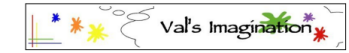 Val's Imagination shop logo